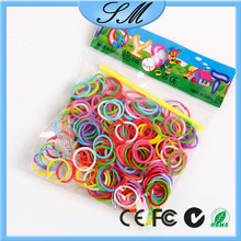 300/600pcs crazy loom bands wholesale luminous loom bands
