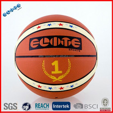 Wholesale laminated PU best basketballs for outdoor