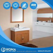 Foshan high quality lacquer painted modern bathroom cabinets 3131