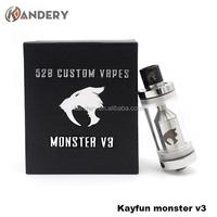 China supplier kayfun monster v2 clone original kayfun monster v3 / kayfun monster v3 clone
