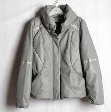EY0146A Latest european style fashion wholesale long women Skin thickening coat