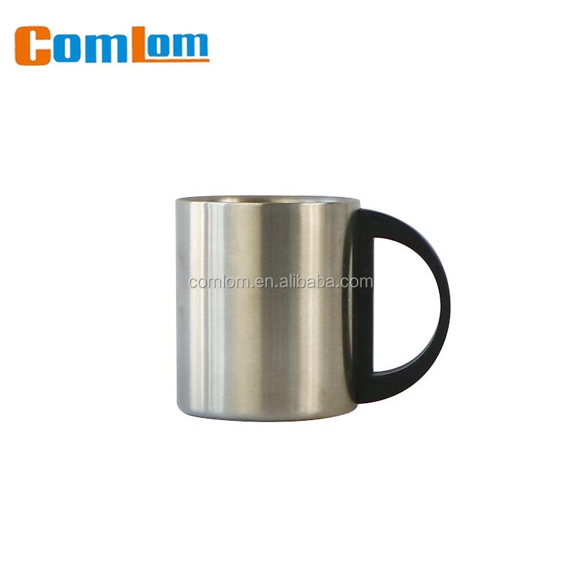 CL1C-M10 comlom 8/10/12 ozSharper Image 14 oz En Acier Inoxydable Doublé Chauffée Voyage Tasse de Café