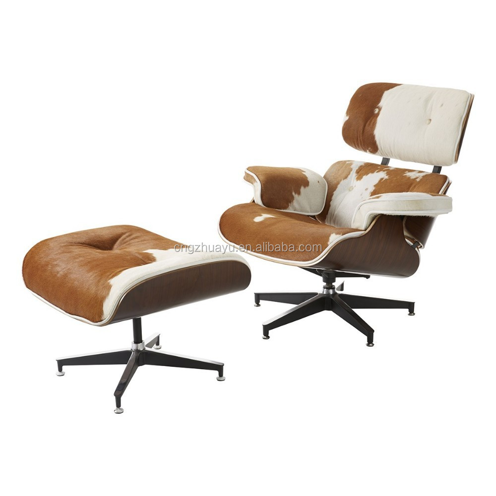 Genuine leather charles lounge chair bauhaus furniture for Bauhaus chaise lounge