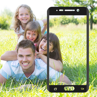 HD Anti-glare colorful PET Cellphone Screen Protector after high melt processing