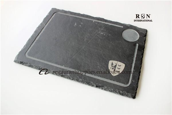 steak sushi grill lava stone black stone plate serving plate slate