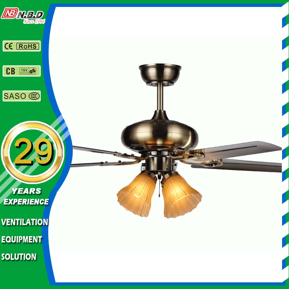56 Inch Industrial Ceiling Fan With Light