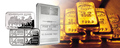 2015 mejores ventas de metal conmemorativa material de plata o chapado en oro bar