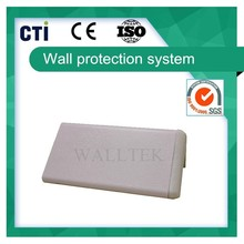 Wear resisting wall aluminum and PVC corner guard (PC-10)