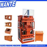 WT1-10 full automatic mud/clay/earth block making machine
