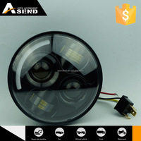 New Product Best Quality Custom Fitted Motorcycle Led Headlight For Harley
