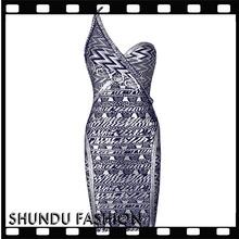 Wholesale 2015 fashion design slash neck black long sleeve wedding dress for fat woman