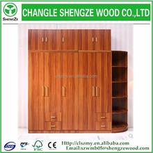 2015 hottest sale wooden wardrobe design