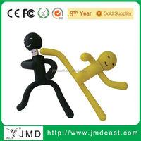 Cute design usb flash drive, pvc usb flash drive, custom usb stick