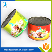 HALAL approved canned tuna in water