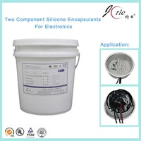 two compounds water-proof silicone potting gel sealants for LED