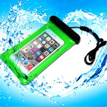pvc waterproof dry bag for swimming/pvc cell phone mobile waterproof case/waterproof pvc mobile case