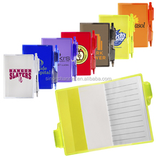 Alibaba Supplier Bulk Clear Notebook with Pen