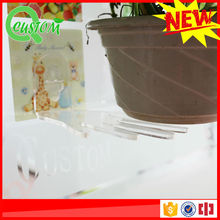 3d silica gel decals safety plastic decorative shelves