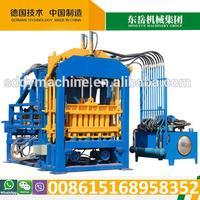 Hydraulic automatic cement interlock machine (39 set in India)