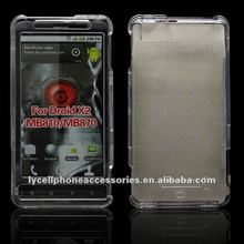 Crystal Cell phone case For Motorola Droid X/mb810 X2/mb870 Hard case