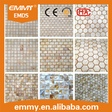 wholesale freshwater shell mosaic tile river mother of pearl shell mosaic tile