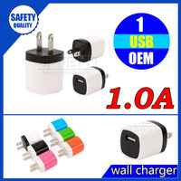 5v 1a mini usb charger for apple iphone 4s 5 6 usb home charger