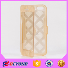 New Arrival! Tpu diamond flip phone case manufacturing own design for iphone 5