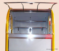 mobile mobile food cart with frozen yogurt machine with frozen yogurt machine