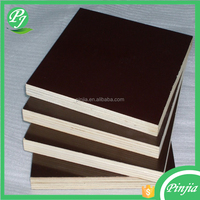 poplar or hardwood core 18mm construction waterproof marine plywood shuttering plywood film faced plywood with best price