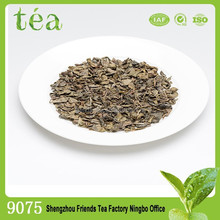 Light green color leaves china green tea brands 9075