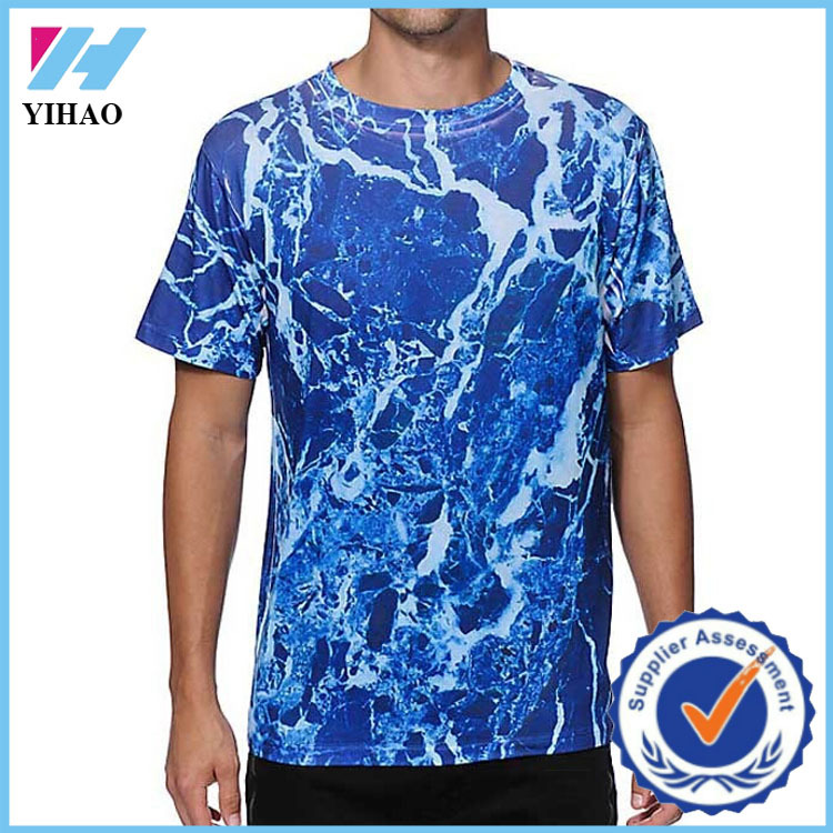 Yihao 2015 mens dry fit sports fitness apparel t shirt for Cheap workout shirts mens