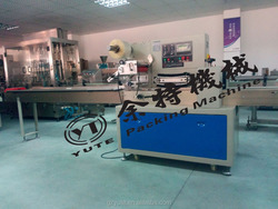 automatic cake cookies packing machine small partical spoon fast food tableware packing machine