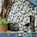 Py020 negro& blanco cuarto de baño de decoración de interiores mosaico de azulejos de la pared