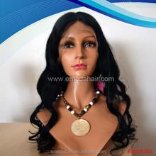 Estilo 100% cabelo brasileiro virgem peruca cheia do laço importadores