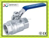 Q11f-64P 2PC BSP female threaded ball valve