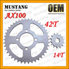 for Suzuki AX100 Motorcycle Parts Motorcycle Chain Sprocket