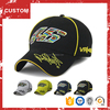 High quality custom golf baseball curve brim cap and hat