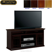 """(No Tools Assembly) 60"""" Wooden Living Room Media TV Cabinet Credenza Console"""