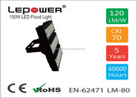 150W 18000LM Waterproof IP67 LED Flood Light with Meanwell Driver