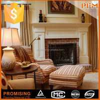 China Factory directly sale Top Quality Home decoration regal stone fireplace frame with pillar