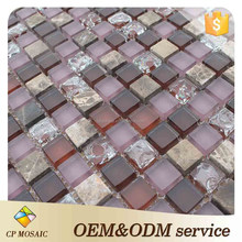 Foshan Tile Indoor Wall Decorative For Glass Mosaic