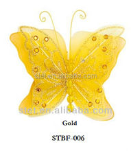 Party supplies small artificial decoration wedding white butterfly