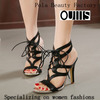latest design womens shoes high heel sandals fashion sexy girls bandage shoes PY3520