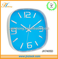 well popular promotion wall clock colorful