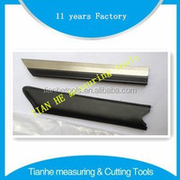 High Precision Knife edge straight edge square ruler factory from china supplier