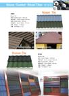 china dezhou fuda baratos stone telha revestida