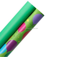 Happy Birthday Decorative Printed Rolling Gift Wrapping Paper