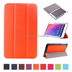 3 folding stand pu leather case cover for Acer Iconia One 8 B1-820