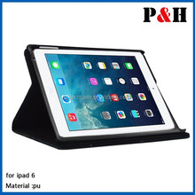 For Ipad Air 2 Slim Case, Leather Smart Cover Case For Ipad 6,for Apple case