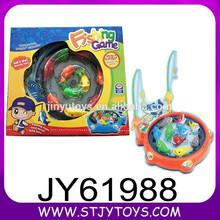 Batería de dibujos animados juguete plástico de la pesca de la novedad operado juego de pesca